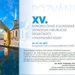 XV. spondylochirurgický kongres